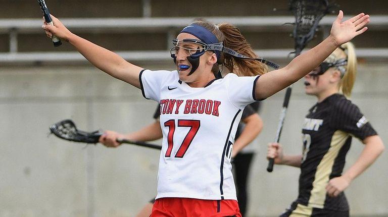Stony Brook attacker Kylie Ohlmiller broke the NCAA