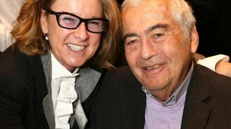 Lloyd Cotsen, pictured with Hammer Museum director Ann
