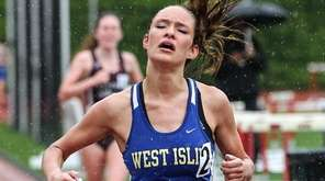 Klaire Klemens of West Islip wins the 3,000-meter