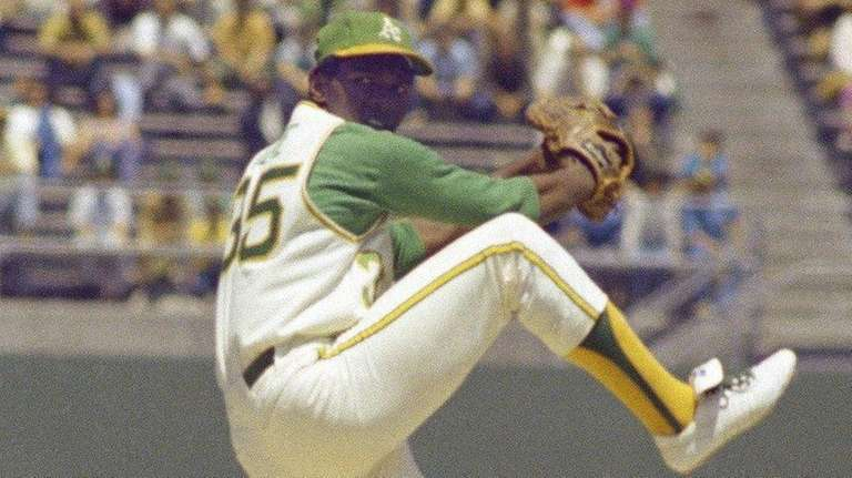 Vida Blue struck out 17 in 11 innings,