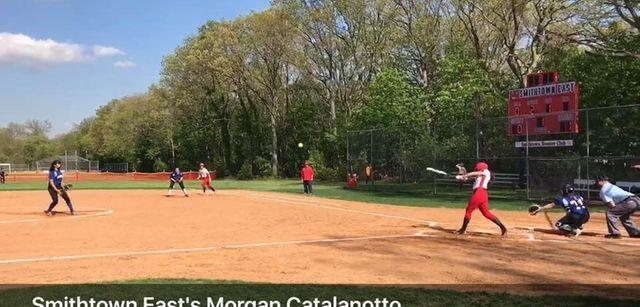 Morgan Catalanotto had three hits as Smithtown East