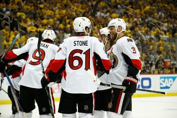 Senators take Game 1 from Penguins in OT