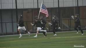 On May 13, 2017, the Adelphi men's lacrosse team's