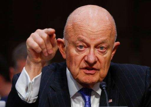 Former National Intelligence Director James Clapper testifies on