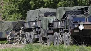U.S. Army soldiers conduct the annual exercise in