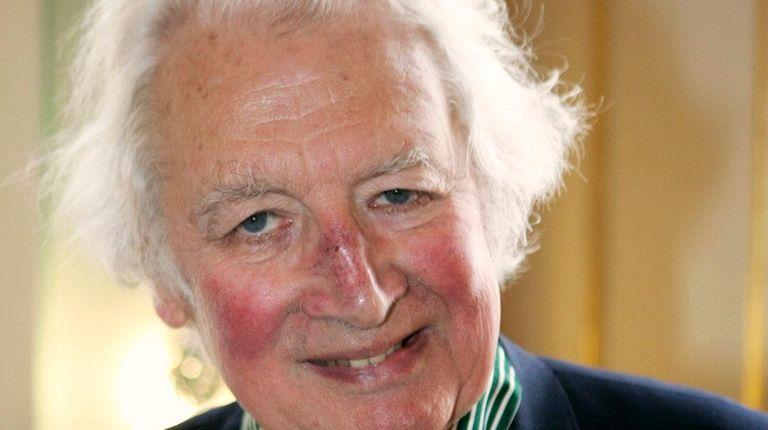 British historian Hugh Thomas in 2008 after being