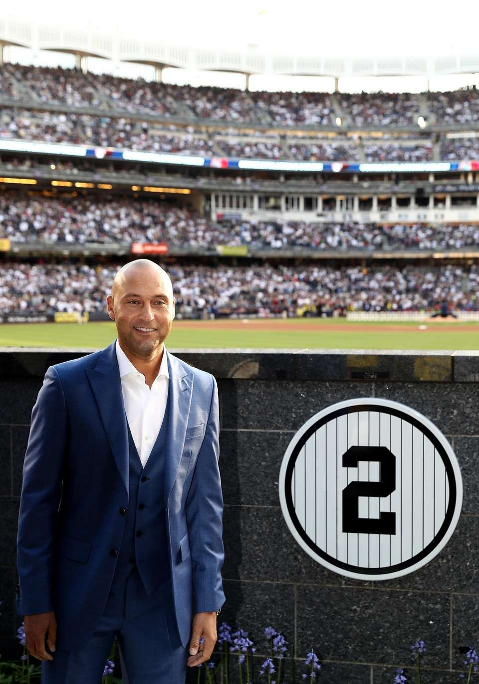 Retired New York Yankees captain Derek Jeter next