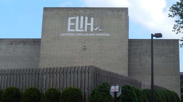 Eastern Long Island Hospital in Greenport is shown