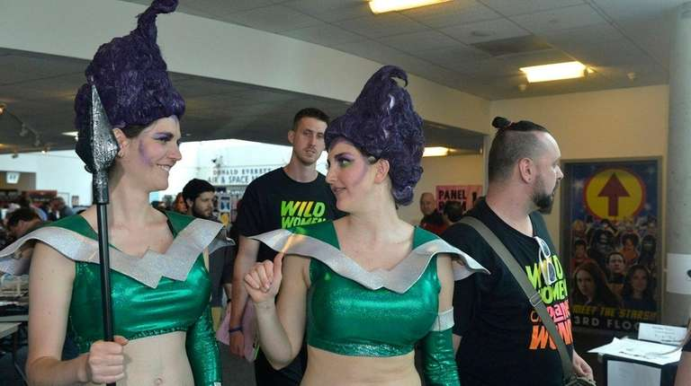 Two members of the Wild Women of Planet