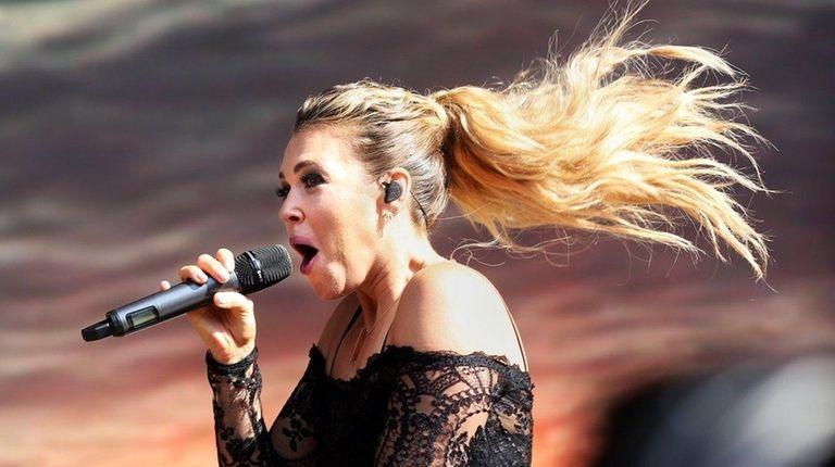 Rachel Platten performs at the 2016 Billboard Festival