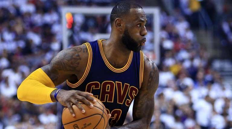 low priced 621f6 e6827 Cavaliers to wear Goodyear logo on jerseys next season, AP ...