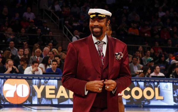 New York Knicks legend and current broadcaster Walt