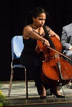 Her talent and drive reach beyond school walls