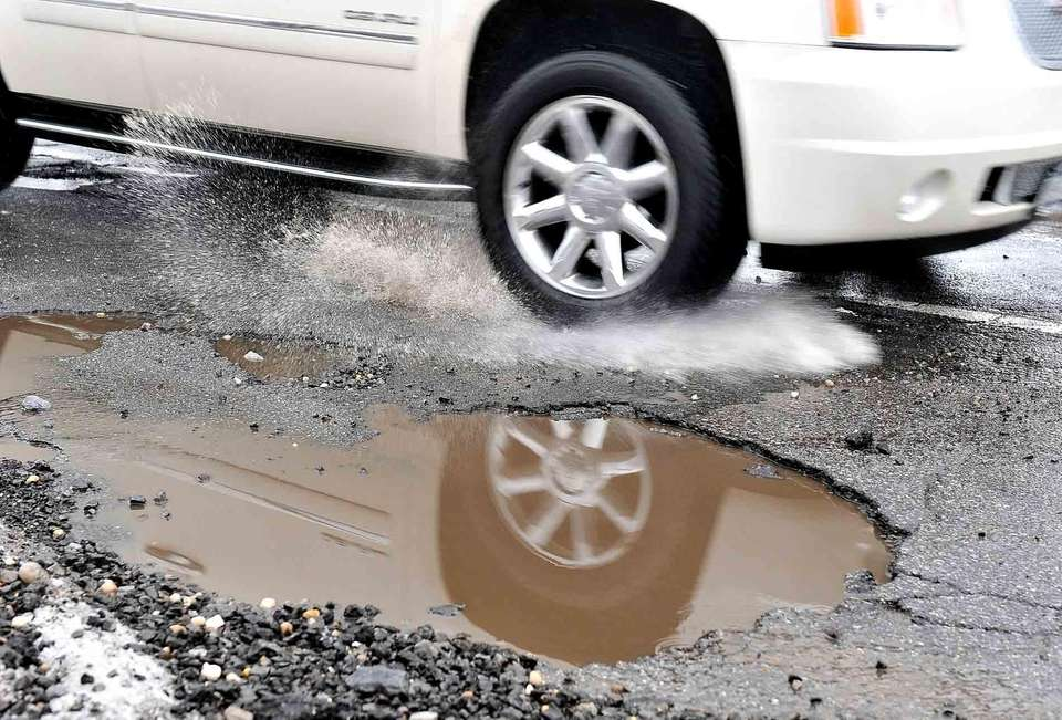 One word: Potholes. They do a number on