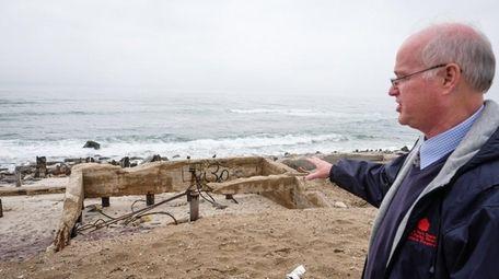 NYS Parks deputy regional director George Gorman speaks