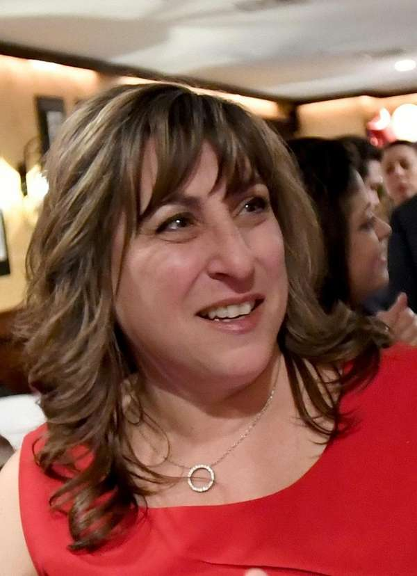 NYS Assemblycandidate Christine Pellegrino is pictured in Babylon