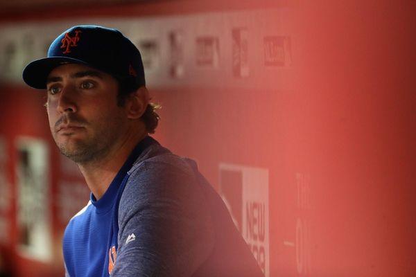 Pitcher Matt Harvey of the New York Mets