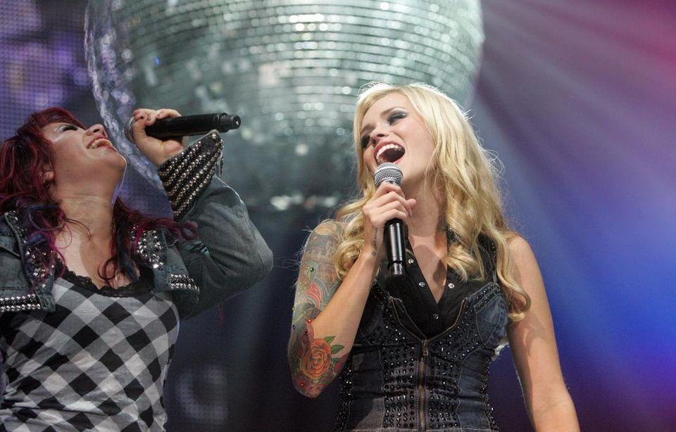 A duet by Allison Iraheta and Megan Joy