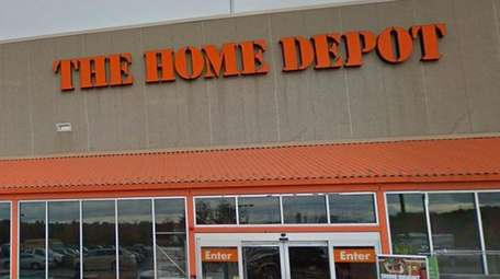 An undated Google view of the Home Depot