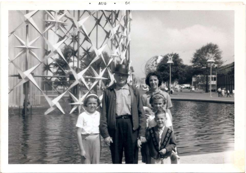 The Tierney Family, along with my mother's Uncle