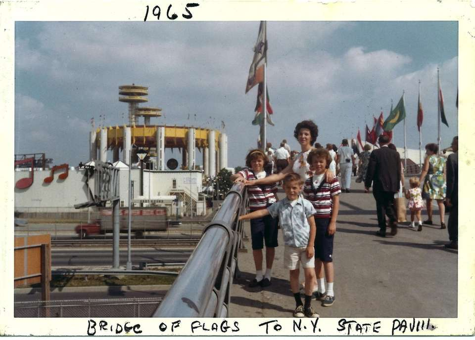 The Tierney Family, Bridge of Flags to NY