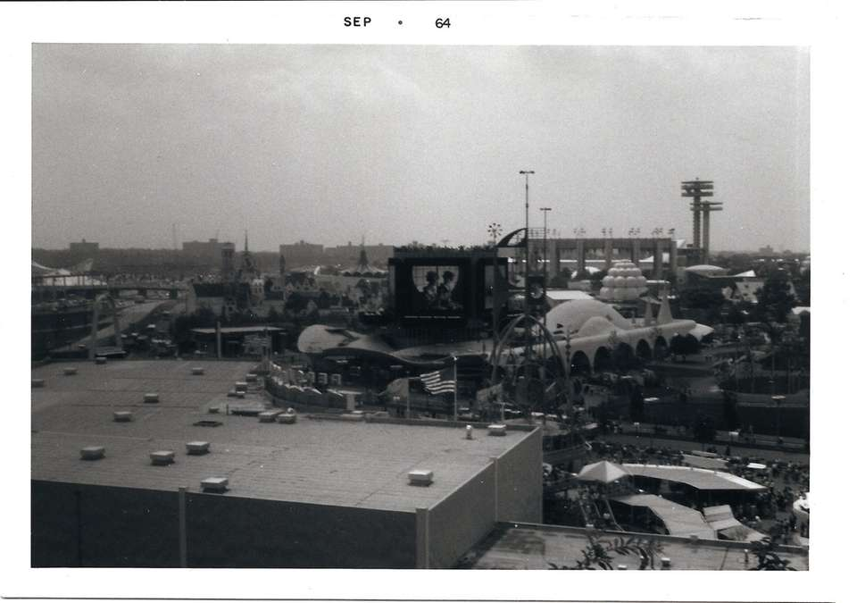 High view of the Fair, September, 1964.