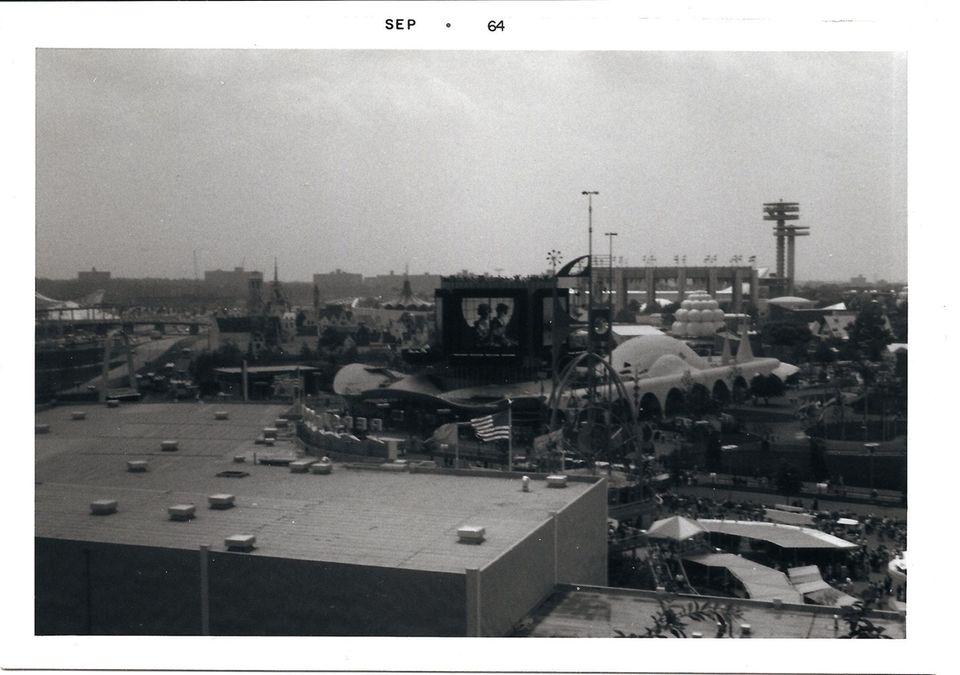 High view of the Fair, September, 1964.