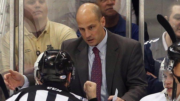 The Rangers fired Ken Gernander, head coach of