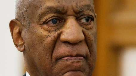 Bill Cosby departs the courthouse in Norristown, Pennsylvania,