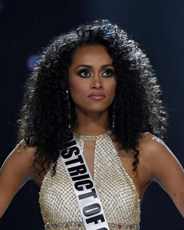 Miss USA 2017 Kára McCullough competes on May