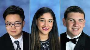 Ben Rhee of Syosset, Gabriella Reyes of Valley