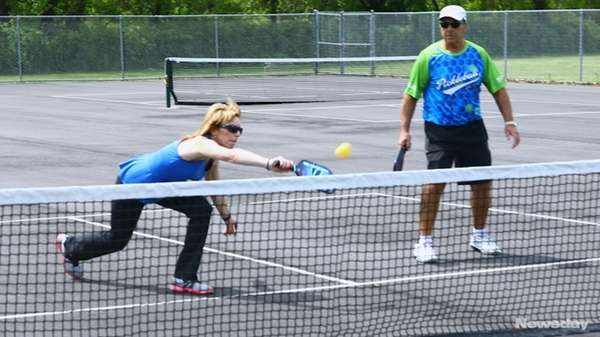 Pickleball combines the concepts of tennis, badminton and