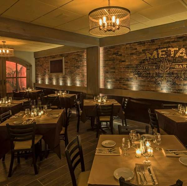 Meta Osteria & Barra, serving Italian food, has