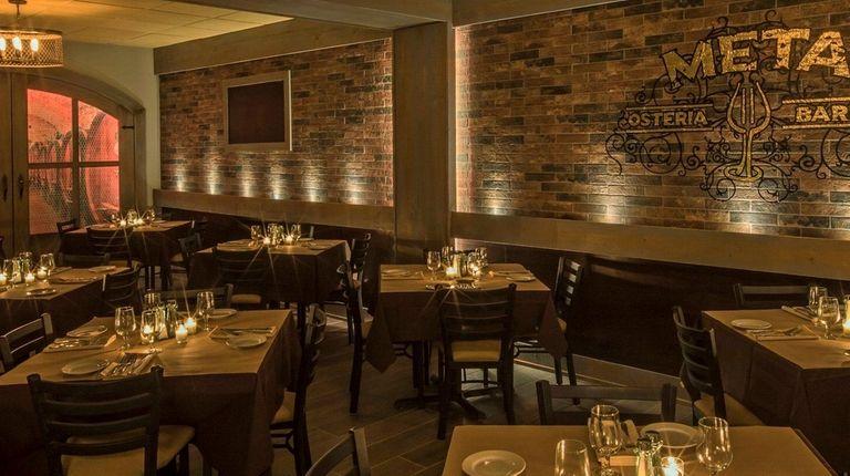 Meta Osteria & Barra, serving Italian food, has