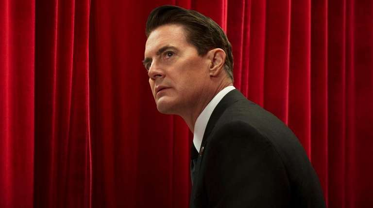 Kyle MacLachlan, as FBI Special Agent Dale Cooper,