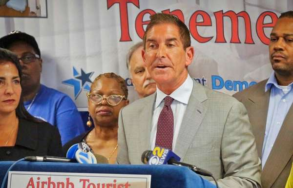Sen. Jeff Klein (D-Bronx), who leads the IDC