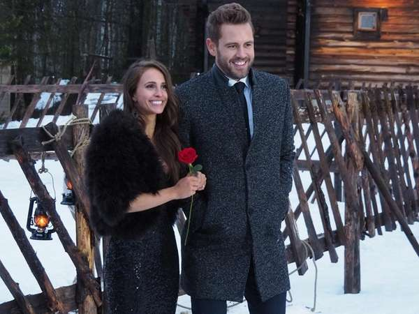 Nick Viall and fiancee Vanessa Grimaldi in Season