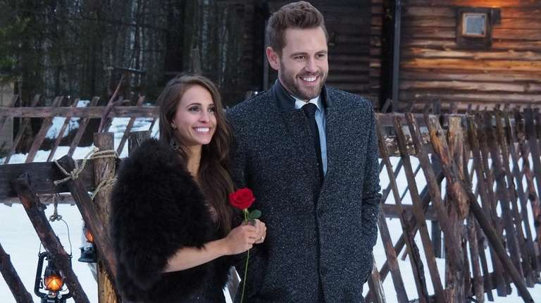 Nick Viall and fiancee Vanessa Grimaldi in Season