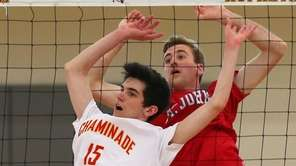John Chave of Chaminade and Jack Bernardini of