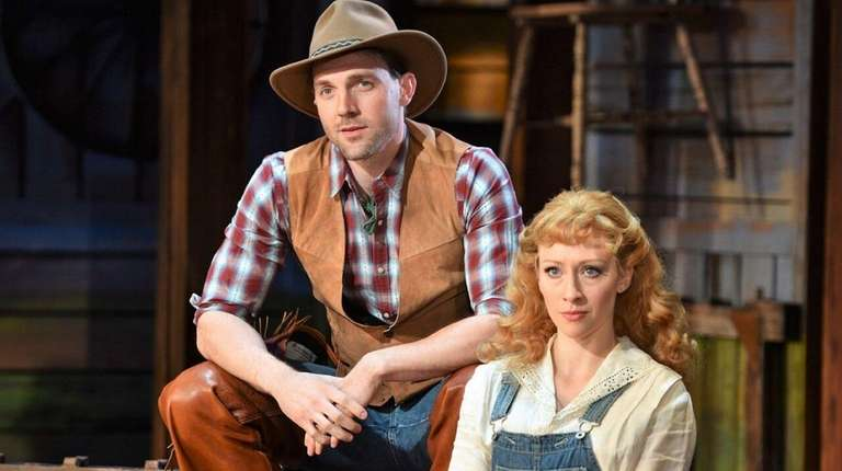 Bryant Martin as Curly and Kaitlyn Davidson as