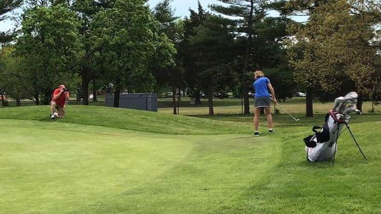 Emmah Federman wins the CHSAA girls golf championship