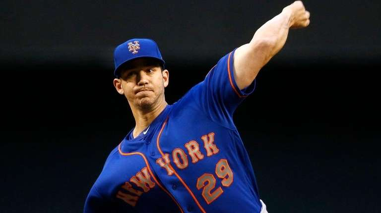 Mets starter Tommy Milone gave up five runs,