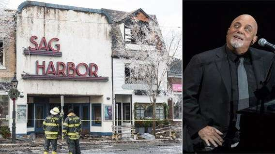Billy Joel donates $500G to rebuild Sag Harbor Cinema after fire ...