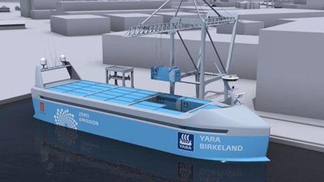 The vessel Yara Birkeland will be the world's