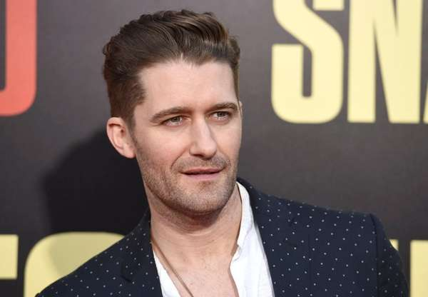 Matthew Morrison and his wife Renee Puente are