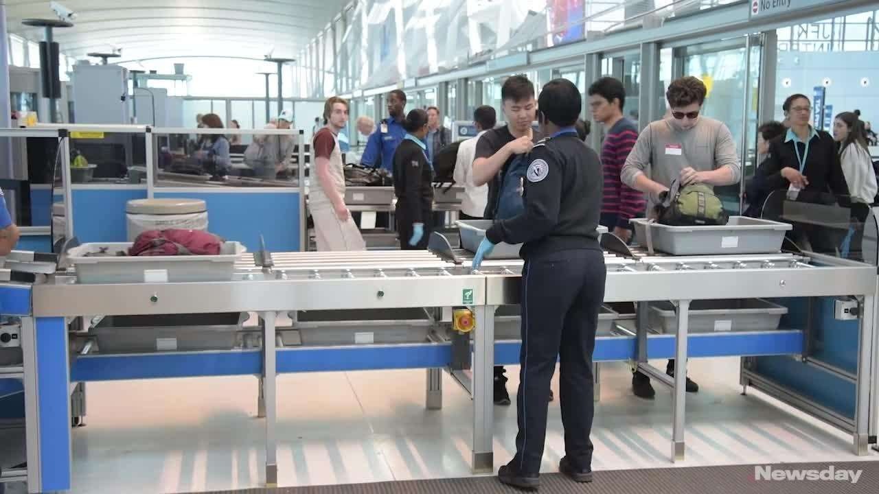 The Transportation Security Administration unveilednew automated security