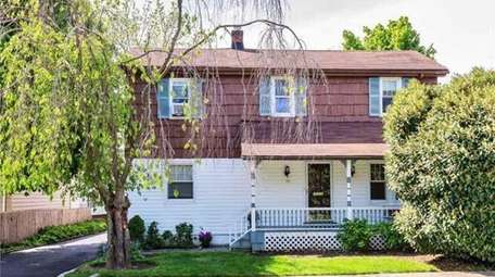 This Colonial on Willow Street in Roslyn Heights