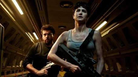 Danny McBride and Katherine Waterston have a monstrous