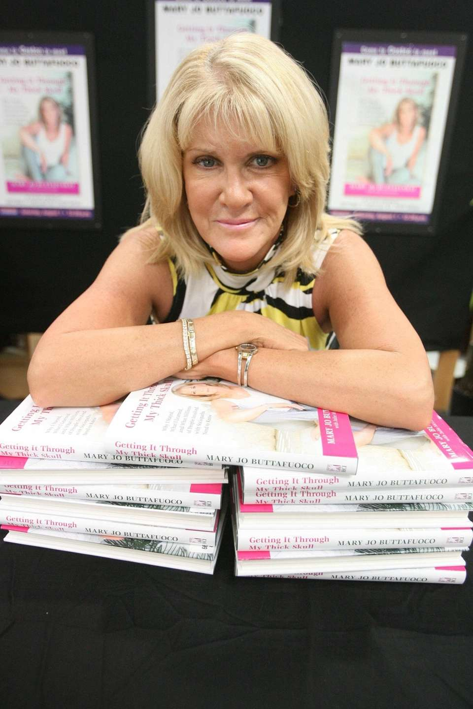 Mary Jo Buttafuoco published a book about the
