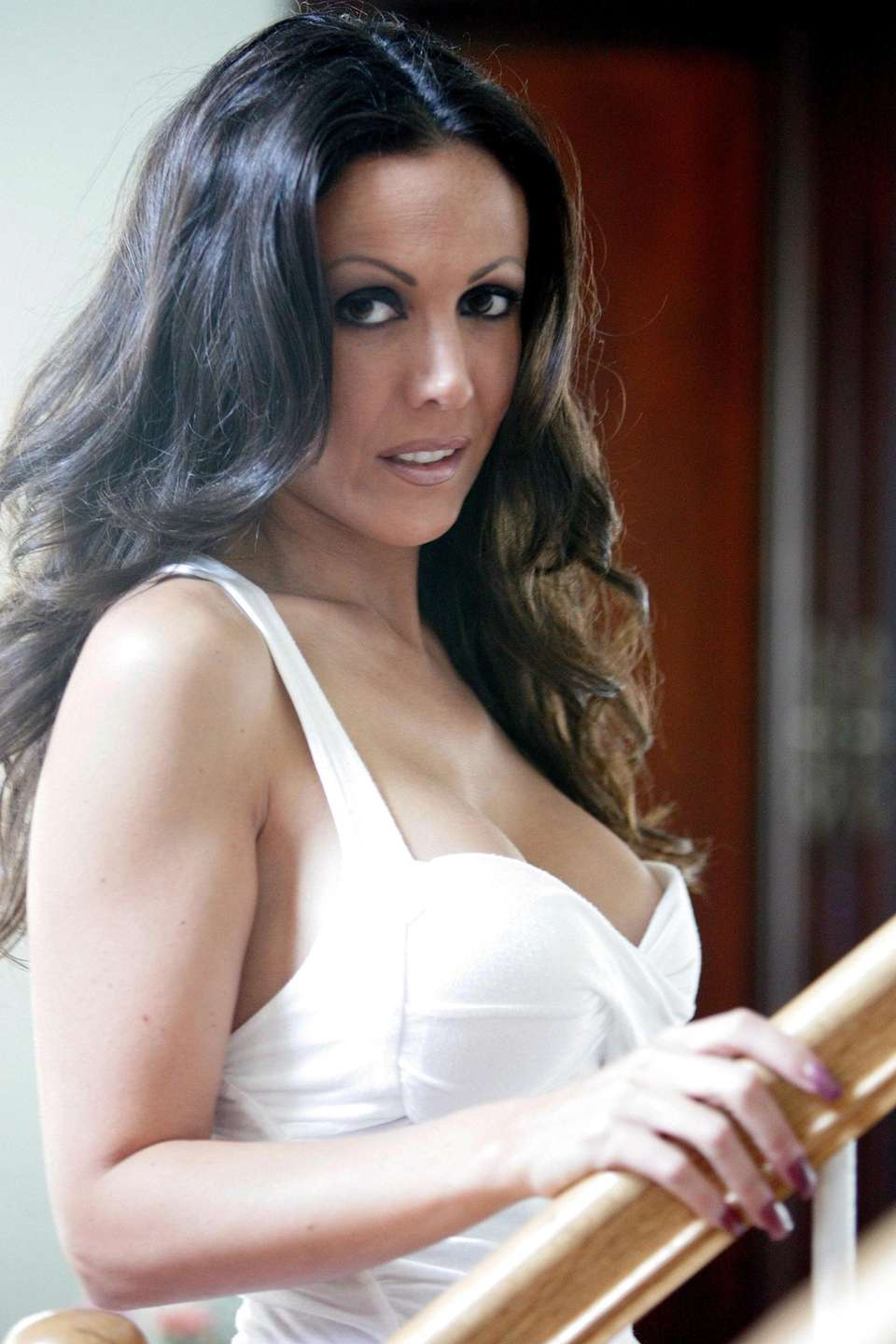 Amy Fisher, seen here at her home on